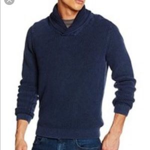 Timmy Hilfiger Navy Collared Sweater